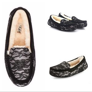 UGG Ansley Antoinette Moonlight Lace Slippers